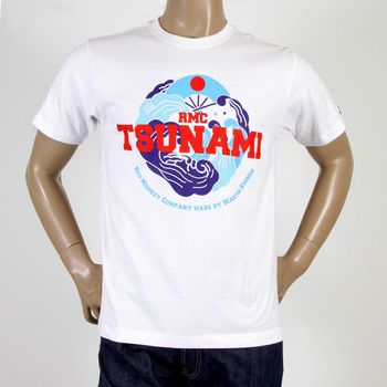 RMC Martin Ksohoh white Tsunami T-shirt REDM0967