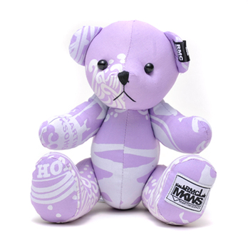 RMC Martin Ksohoh MKWS Limited Edition light purple bandana teddy bear RMC1237