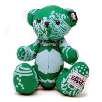 RMC Martin Ksohoh MKWS Limited Edition green bandana teddy bear RMC1231