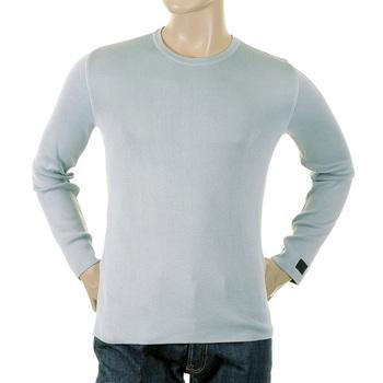 Armani Jeans jumper knitwear mens Z6W33 83 acqua knitwear jumper top AJM0770