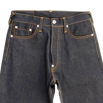 RMC Martin Ksohoh Dark Indigo Raw Unwashed Dry Denim Jeans with Vintage Finish REDM2285