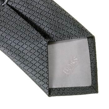 Boss Black grey silk Hugo Boss tie 50219073 BOSS0625