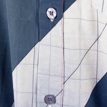 Etienne Ozeki ocean blue shirt ETIE2698