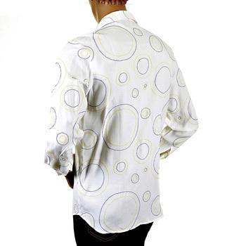 Etienne Ozeki white stitched shirt ETIE2701