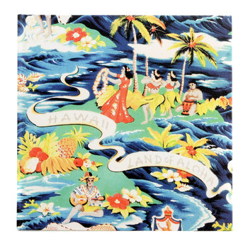 Sun Surf Hardback Hula Print SS01880 Land of Aloha Project Book SURF2823