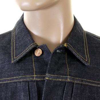Evisu Heritage Early Original Non Wash Denim Number One Special Jacket EVIS1690