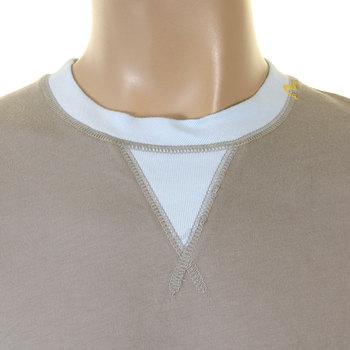 Evisu J07 Early Original Short Sleeve Cotton Crew Neck Grey T Shirt EVIS1276