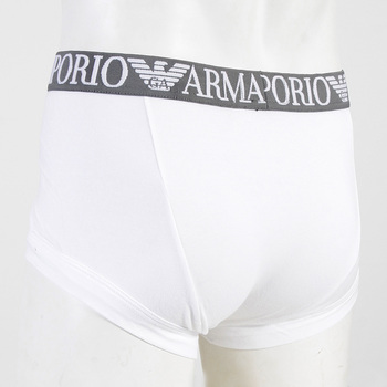 Under wear Emporio Armani white stretch cotton trunk 111866 2P540 EAM0326