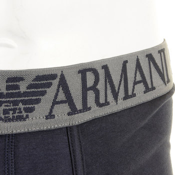 Under wear Emporio Armani navy stretch cotton trunk 111866 2P540 EAM0331