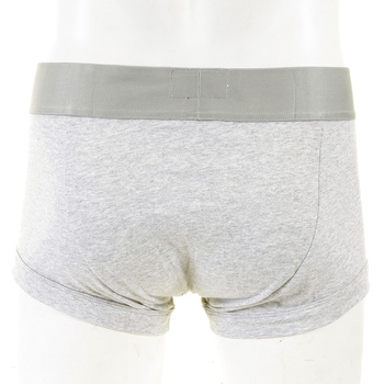 Under wear Emporio Armani melange grey cotton trunk 110852 2P718 EAM0346