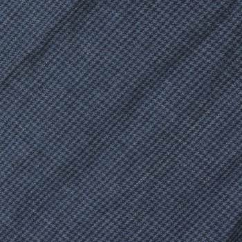Sugar Cane navy houndstooth one wash SC01969A stole scarf CANE2726