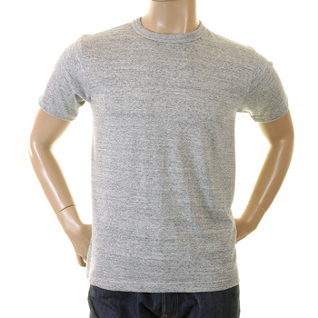 Whitesville Mens WV73544 Cotton Marl Grey Crew Neck Regular Fit Short Sleeve T Shirt CANE2023