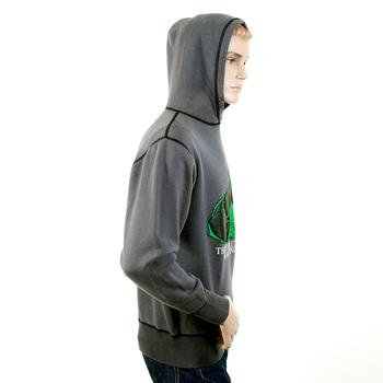 RMC Martin Ksohoh Regular Fitting RWC141262 Hooded Slate Grey Sweatshirt with Ape RMC Evolution Print REDM0912