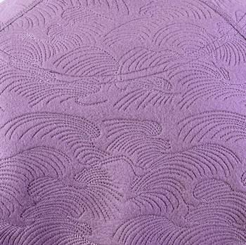 RMC Martin Ksohoh R6WHTSUNAMIE Lilac Large Fitting Tsunami Wave Crew Neck Sweatshirt REDM1056