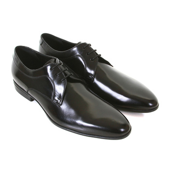 Hugo Boss shoes black leather Nestio 50228318  BOSS1658