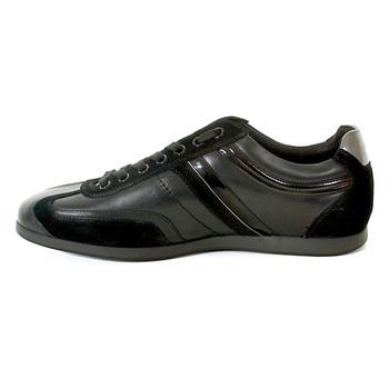 Boss Orange Silvion 50235185 black leather Hugo Boss sneaker shoes BOSS2925