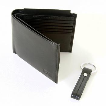 Boss Black label Giardo 50235731 boxed wallet and key holder gift set BOSS2910