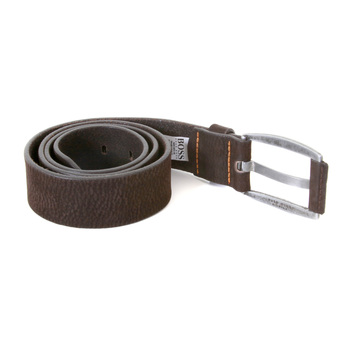 Boss Orange Label 50228037 chocolate brown leather Hugo Boss belt BOSS1665