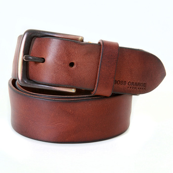 Boss Orange Label 50235122 tan leather Hugo Boss belt BOSS2926