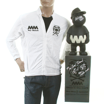 RMC X 4A Limited Edition RQZ12009 Trooper Jacket in White with Glow in Dark Model Presentation Toy RMC1463