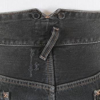 Vivienne Westwood Anglomania LV01HEQK Hiking vintage washed black jeans VWST2659