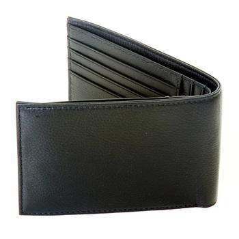 Armani Jeans mens black leather 06V65 Q7 boxed wallet AJM2502