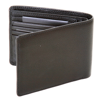 Hugo Boss Black label mens Bengi 50248893 black leather wallet BOSS2771