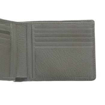 Hugo Boss Black label mens Bengi 50205407 boxed grey leather wallet BOSS0974