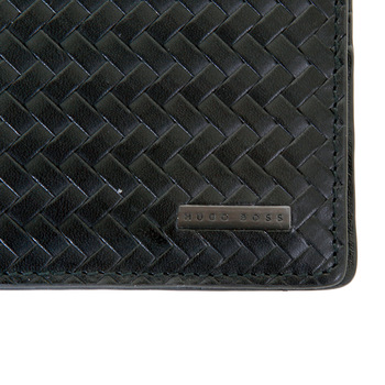 Hugo Boss Black label mens Pelik 50248783 boxed black leather wallet BOSS2770