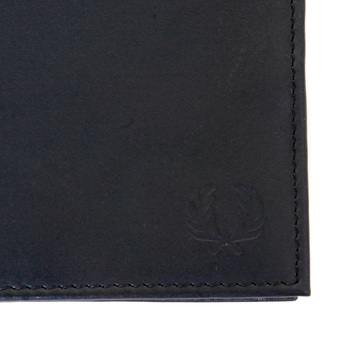 Fred Perry mens L3183 boxed black leather wallet FPRY3022