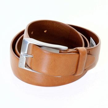 Hugo Boss Black Label mens Eberio 50245595 tan leather belt BOSS1912