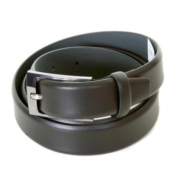 Hugo Boss Black Label mens Emerio 50248643 black leather belt BOSS2769