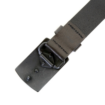 Armani Jeans mens black leather U6157 V8 casual belt AJM2484