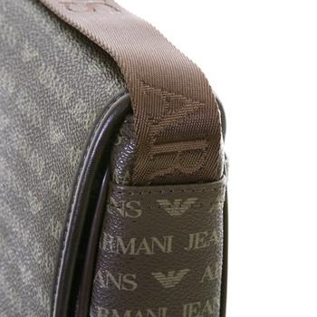 Armani Jeans mens brown 06293 J4 logo messenger bag AJM2474