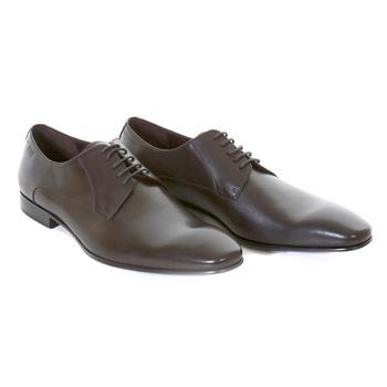 Hugo Boss Black Label mens Meton 50239501 brown leather classic shoes BOSS0941