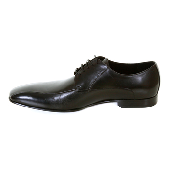 Hugo Boss shoes black leather Metrio badger 50237738 BOSS0927