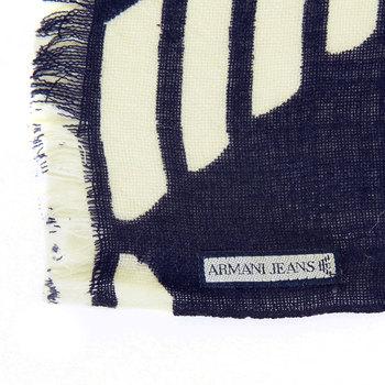 Armani Jeans mens blue U6426 A2 woven scarf AJM2504
