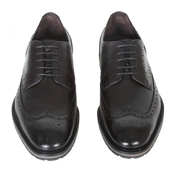 Hugo Boss shoes Nevors black leather brogue 50247372 BOSS2765