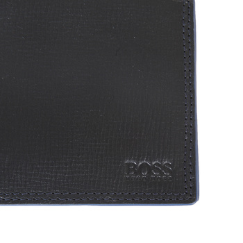 Hugo Boss Black label mens Pradio 50255711 boxed black leather wallet BOSS3307