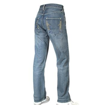 Ijin mens J5208 23Z red line hiro wash denim jeans Ijin2244