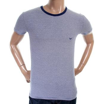 Emporio Armani mens striped crew neck 111035 3P530 t shirt EAM1584