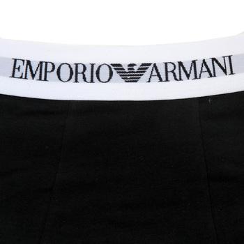 Emporio Armani mens Underwear twin pack 111210 3A517 trunk EAM2511