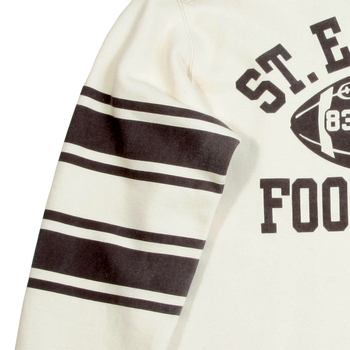 Cheswick Crew Neck Ecru CH64089 College Football Sweatshirt for Men CANE2840
