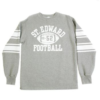 Cheswick Long Sleeved Light Grey CH64089 College Football Mens Sweatshirt CANE2841