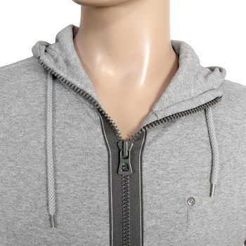 Boss Orange Label grey 50240608 Ztylo zip up mens Hugo Boss sweatshirt BOSS0811