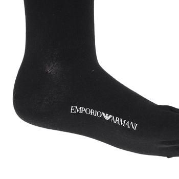 Armani mens black 302402 4A110 socks EAM4046