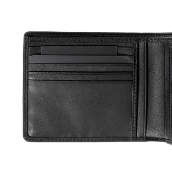Hugo Boss mens Monist 50261706 black leather boxed wallet BOSS3467