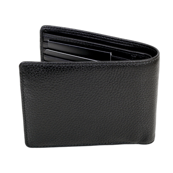 Hugo Boss mens Moneme 50261708 black leather boxed wallet BOSS4403