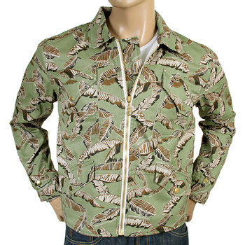 RMC mens leaf camo cotton jacket REDM4133