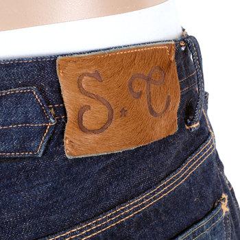 Sugarcane Vintage Cut SC41111H Japanese Lone Star 1930s Cowboy Hard Wash Denim Jeans for Men CANE1333